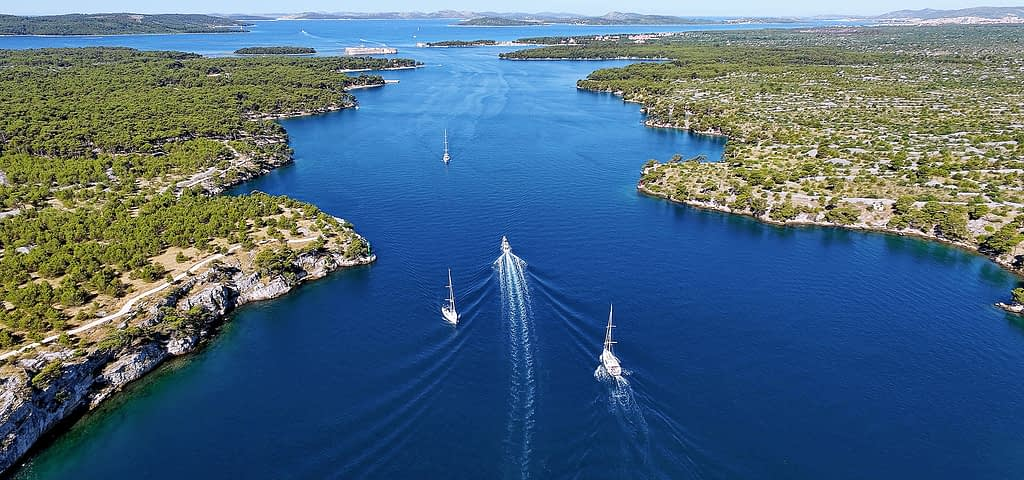 Archipelago Tours Krka Private Boat tour - Krka Channel Cruise Private Boat Tour photo of St Anthony Channel