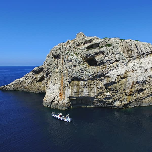 Archipelago Tours Croatia Sibenik boat tour - Kornati National Park Mana cliffs photo