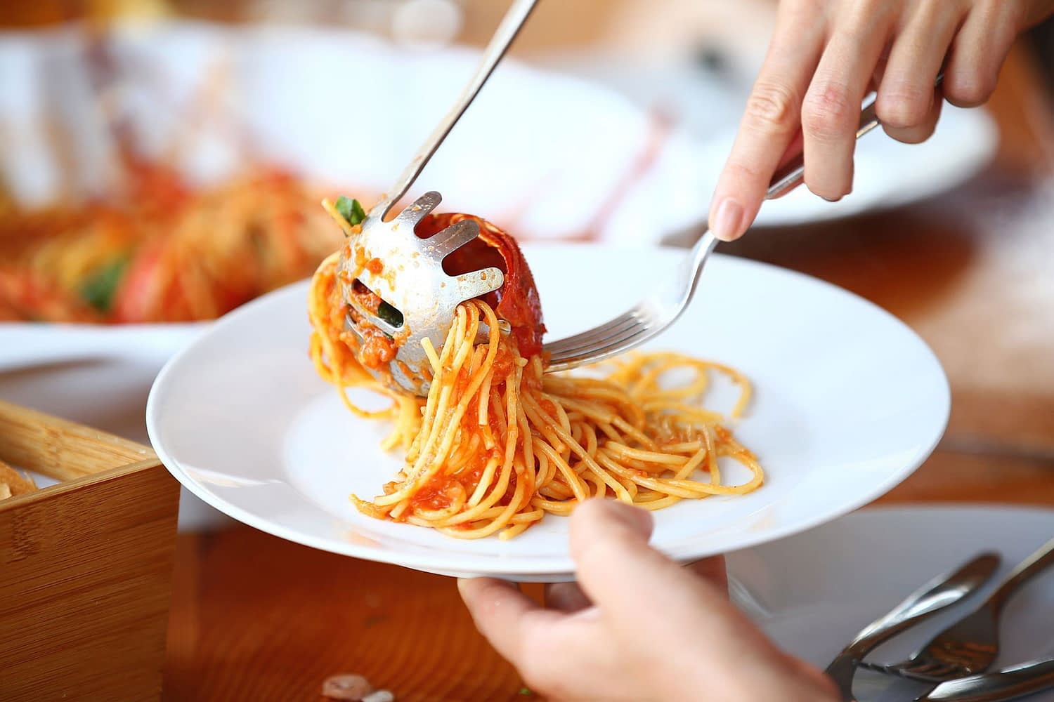 Archipelago Tours - Kornati Experience Private tour our photo of a plate of spaghetti with tomato sauce
