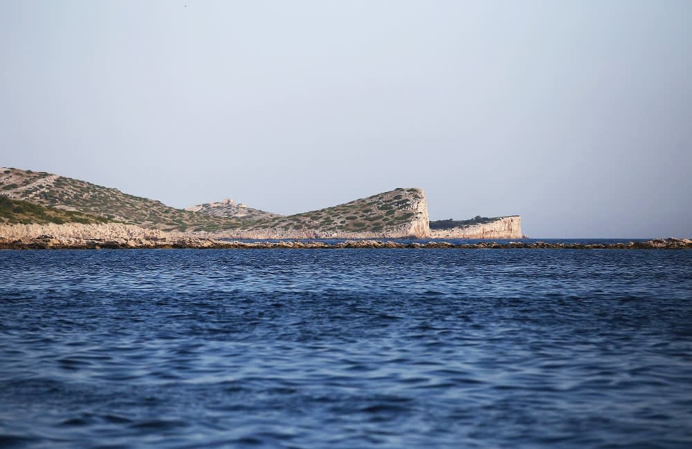 Archipelago Tours Blog and Tips: Carved by the elements - photo of the cliffs in Kornati archipelago