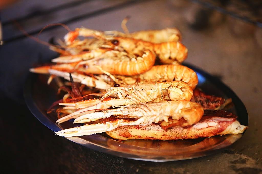 Archipelago Tours Kornati Experience Small Group Tour photo of grilled shrimps