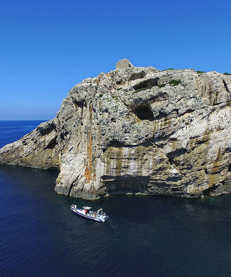 Archipelago Tours Croatia Sibenik boat tour - Kornati National Park Mana cliffs photo