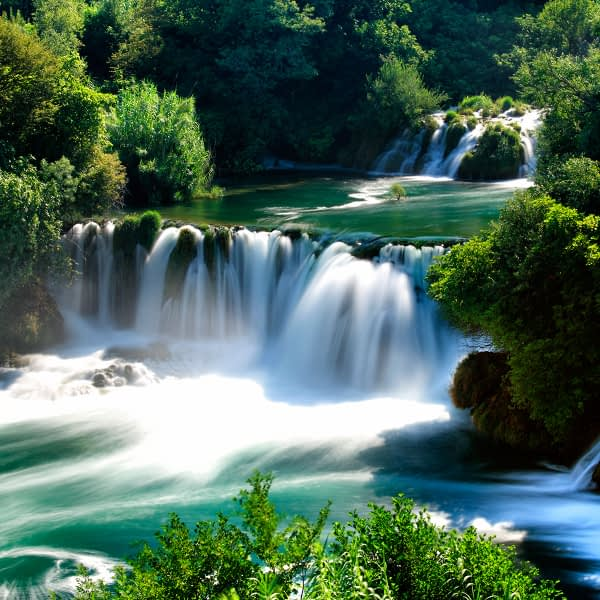 Archipelago Tours - Krka Experience Private Tour photo of famous Skradinski buk waterfalls in Krka National Park